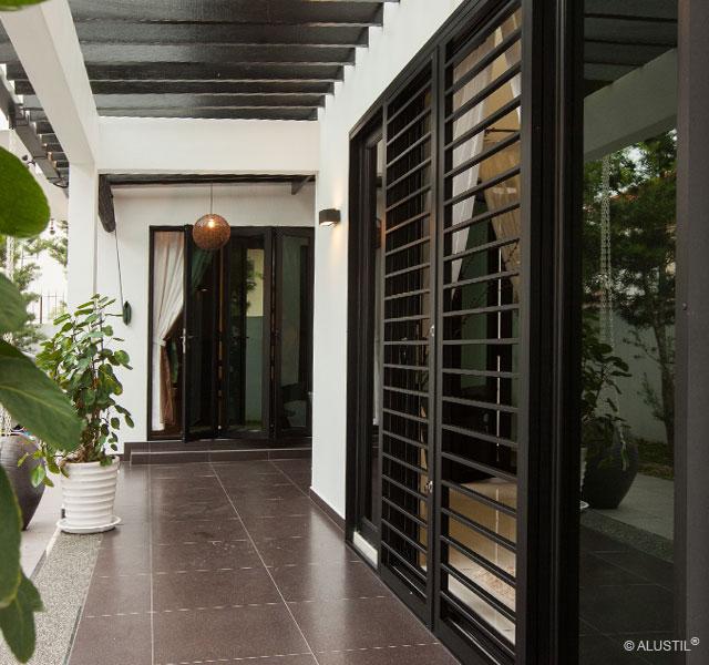 Door 01 03 Alustil Aluminium Kitchen Doors Windows Storage